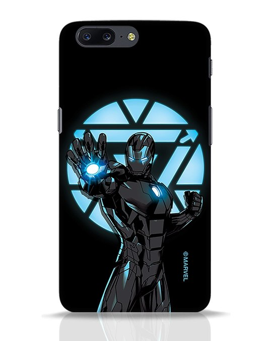 Shop Iron Man Attack OnePlus 5 Mobile Cover-Front