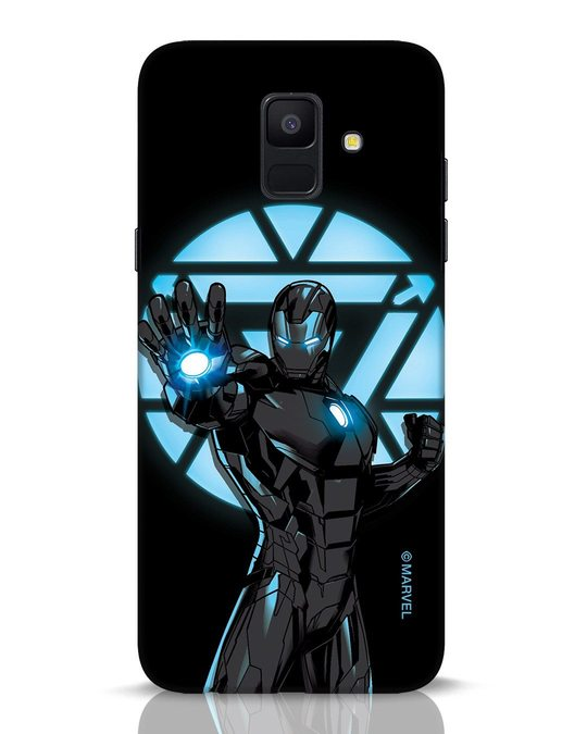 Shop Iron Man Attack Samsung Galaxy A6 2018 Mobile Cover-Front
