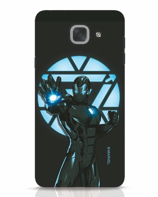 Shop Iron Man Attack Samsung Galaxy J7 Max Mobile Cover-Front