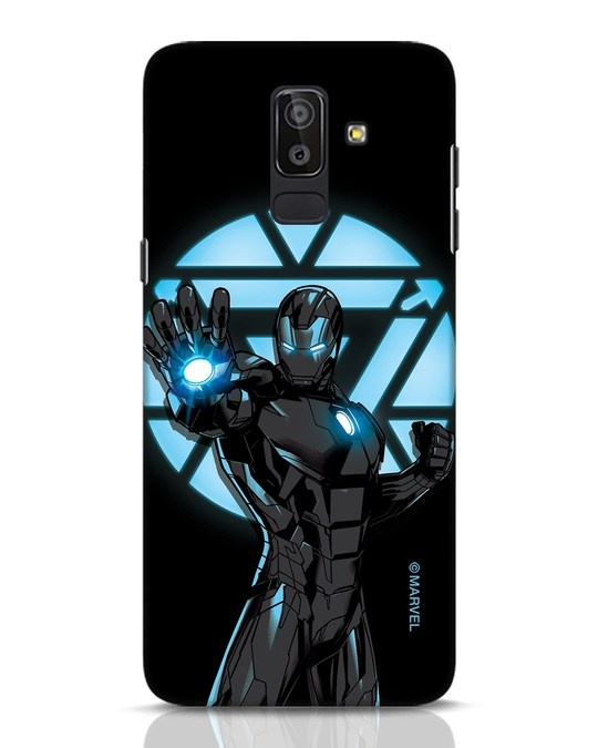 Shop Iron Man Attack Samsung Galaxy J8 Mobile Cover-Front