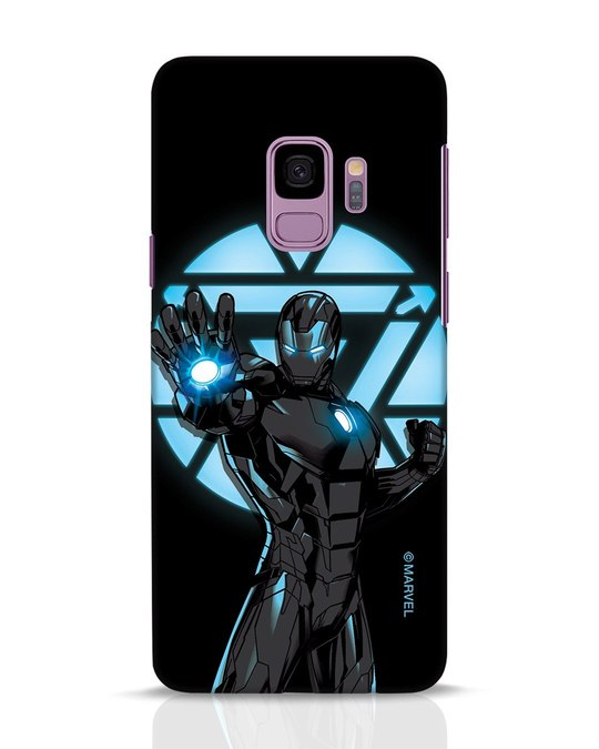 Shop Iron Man Attack Samsung Galaxy S9 Mobile Cover-Front