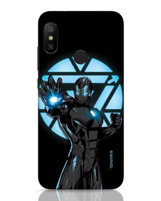 Shop Iron Man Attack Xiaomi Redmi 6 Pro Mobile Cover-Front
