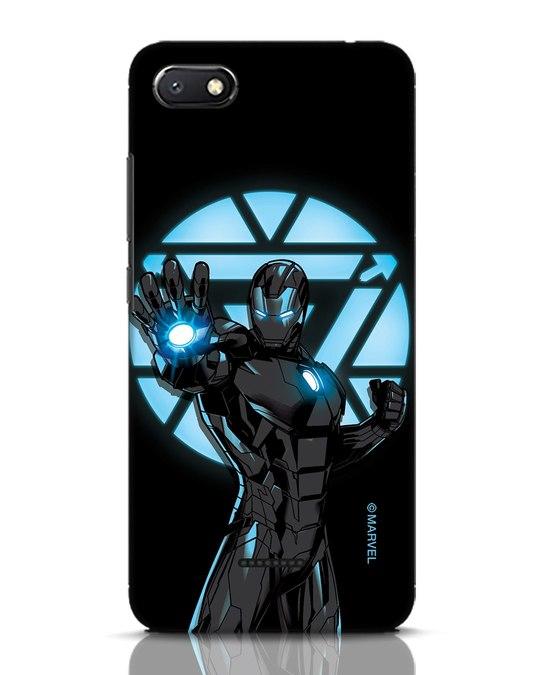 Shop Iron Man Attack Xiaomi Redmi 6A Mobile Cover-Front