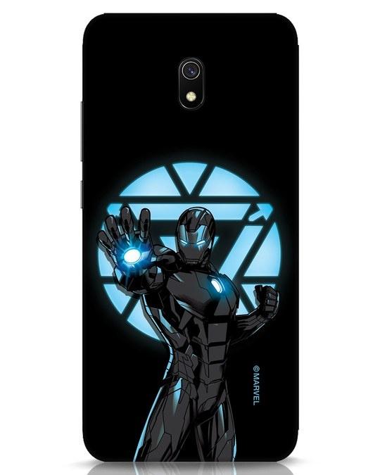 Shop Iron Man Attack Xiaomi Redmi 8A Mobile Cover-Front