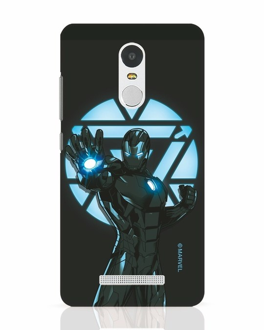 Shop Iron Man Attack Xiaomi Redmi Note 3 Mobile Cover-Front