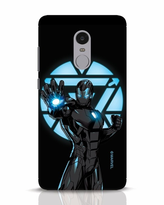 Shop Iron Man Attack Xiaomi Redmi Note 4 Mobile Cover-Front