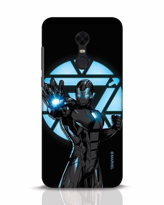 Shop Iron Man Attack Xiaomi Redmi Note 5 Mobile Cover-Front