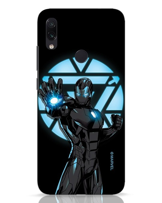 Shop Iron Man Attack Xiaomi Redmi Note 7 Mobile Cover-Front