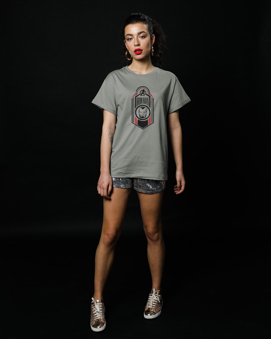 Shop Iron Man Endgame Boyfriend T-Shirt (AVEGL)-Full