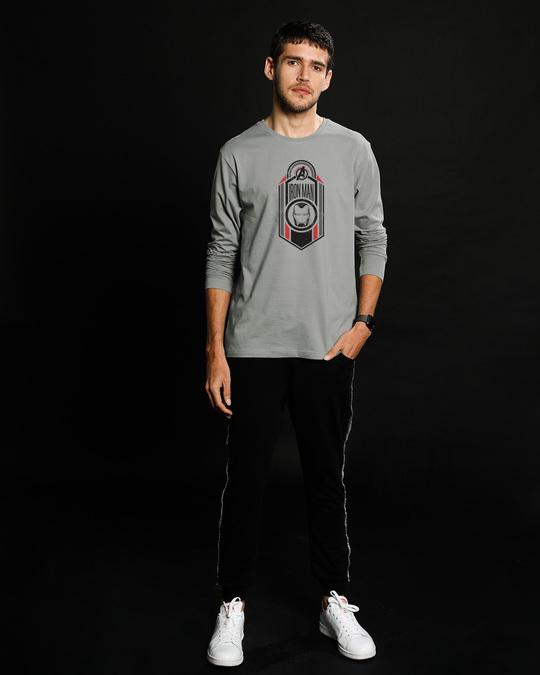 Shop Iron Man Endgame Full Sleeve T-Shirt (AVEGL)-Design
