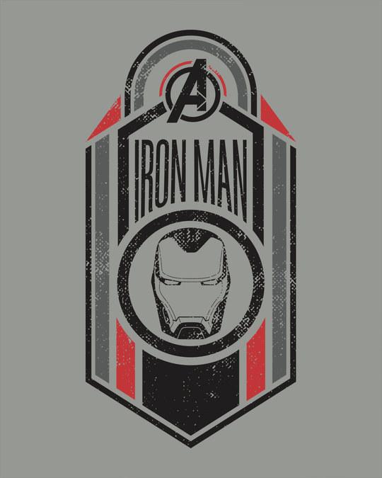 Shop Iron Man Endgame Full Sleeve T-Shirt (AVEGL)-Full