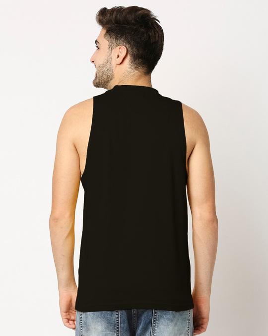 Shop Iron Man of War (AVL) Deep Armhole Vest-Back