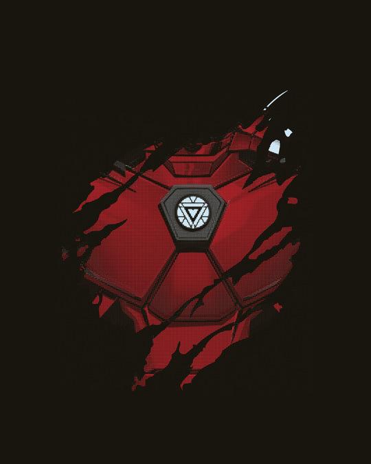 Shop Iron Man of War (AVL) Deep Armhole Vest-Full