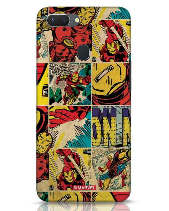Shop Iron Man Pattern Realme 2 Mobile Cover-Front