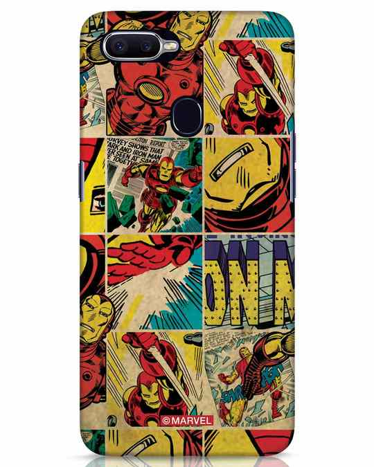 Shop Iron Man Pattern Realme 2 Pro Mobile Cover-Front