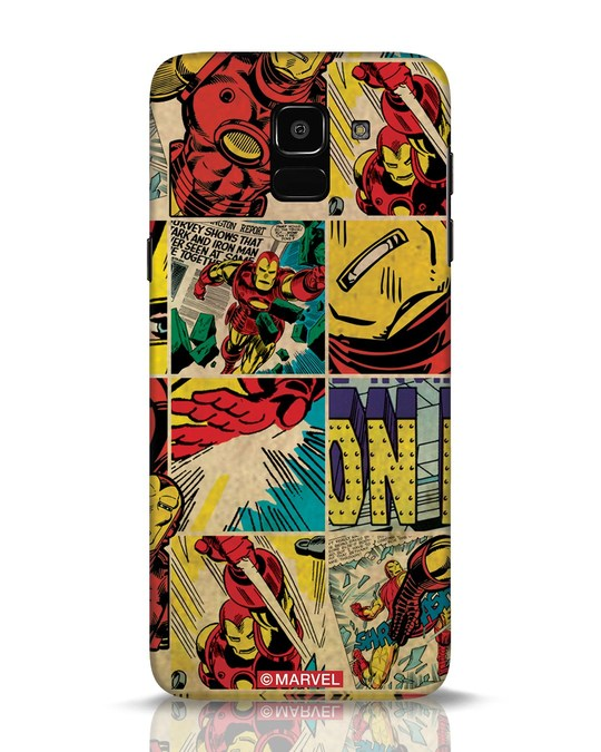 Shop Iron Man Pattern Samsung Galaxy J6 Mobile Cover-Front