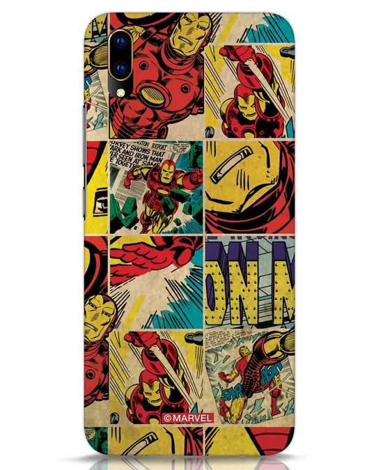 Shop Iron Man Pattern Vivo V11 Pro Mobile Cover-Front
