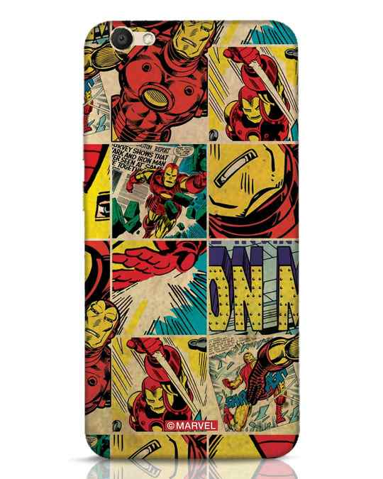 Shop Iron Man Pattern Vivo V5 Mobile Cover-Front