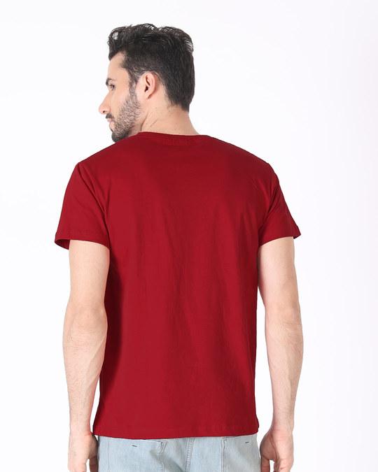 Shop Iron Man Printed Badge Half Sleeve T-Shirt (AVL)-Design