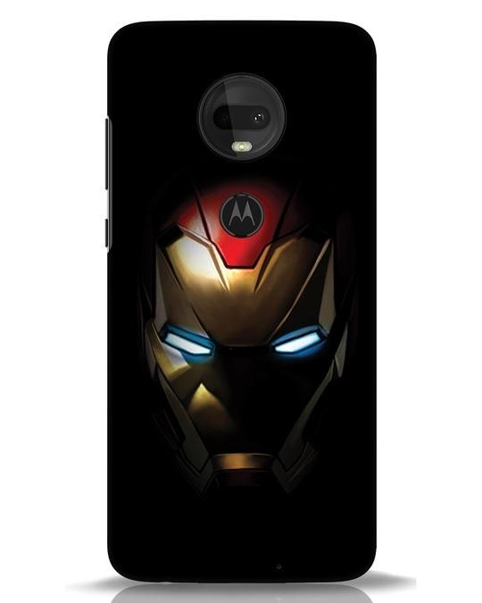 Shop Iron Man Shadows Moto G7 Mobile Cover-Front