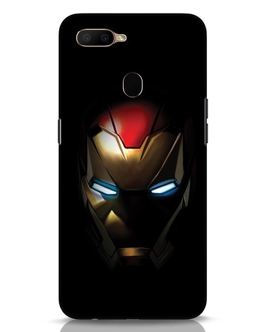 Shop Iron Man Shadows Oppo A5s Mobile Cover-Front