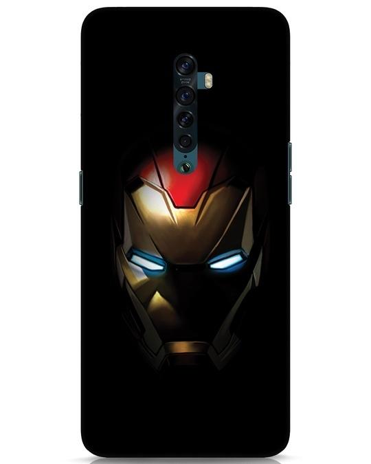 Shop Iron Man Shadows Oppo Reno 2 Mobile Cover-Front
