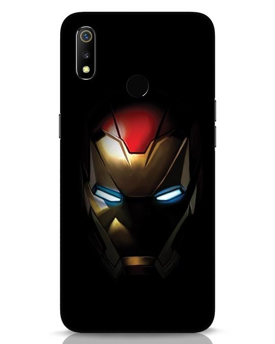 Shop Iron Man Shadows Realme 3 Mobile Cover-Front
