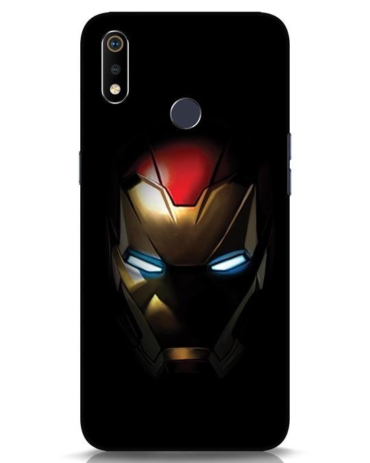 Shop Iron Man Shadows Realme 3i Mobile Cover-Front