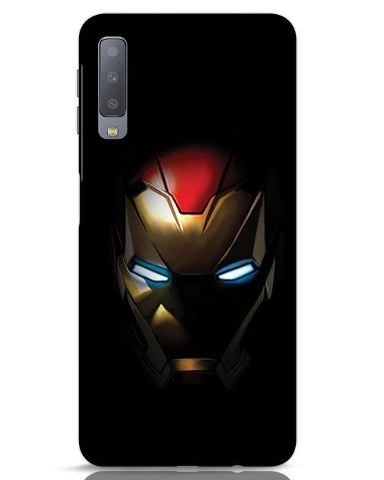 Shop Iron Man Shadows Samsung Galaxy A7 Mobile Cover-Front