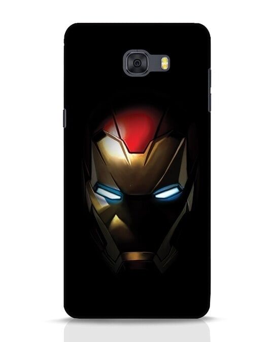 Shop Iron Man Shadows Samsung Galaxy C9 Pro Mobile Cover-Front