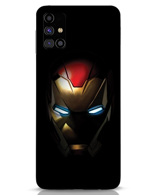 Shop Iron Man Shadows Samsung Galaxy M31s Mobile Cover-Front