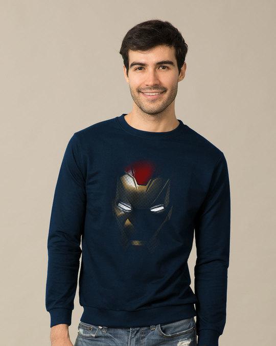 Shop Iron Man Shadows Sweatshirt (AVL)-Front