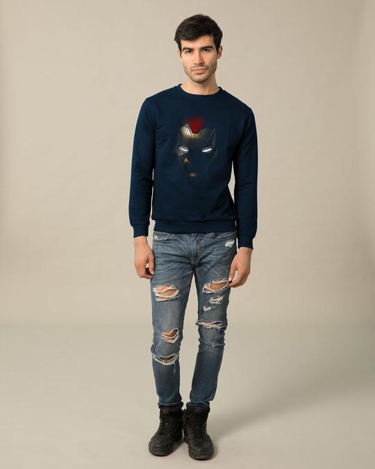 Shop Iron Man Shadows Sweatshirt (AVL)-Design