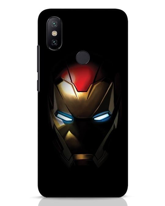 Shop Iron Man Shadows Xiaomi Mi A2 Mobile Cover-Front