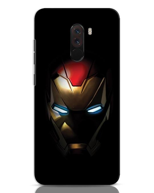 Shop Iron Man Shadows Xiaomi POCO F1 Mobile Cover-Front