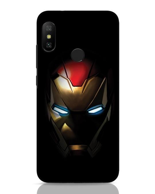 Shop Iron Man Shadows Xiaomi Redmi Note 6 Pro Mobile Cover-Front