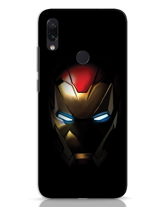 Shop Iron Man Shadows Xiaomi Redmi Note 7 Pro Mobile Cover-Front