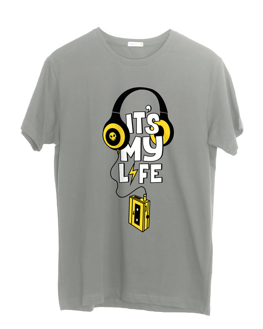Shop It's My Life Half Sleeve T-Shirt-Front