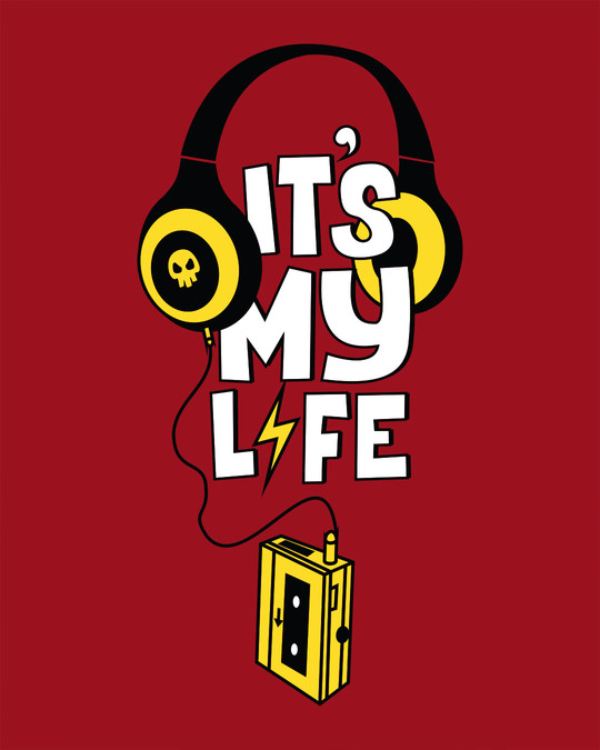 Shop It's My Life Half Sleeve T-Shirt