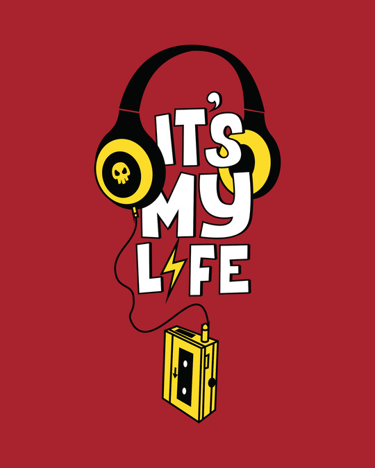 Shop It's My Life Half Sleeve T-Shirt-Full