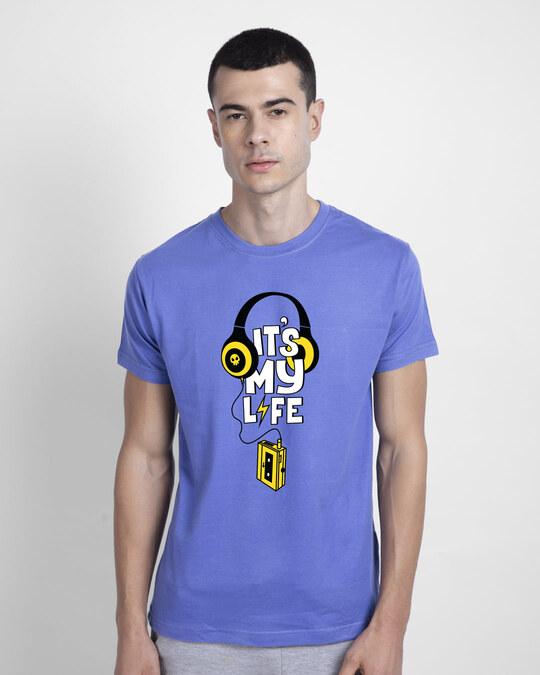 Shop It's My Life Half Sleeve T-Shirt-Front