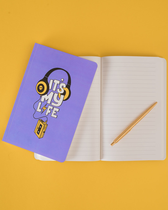 Shop It's My Life Music Notebook-Full