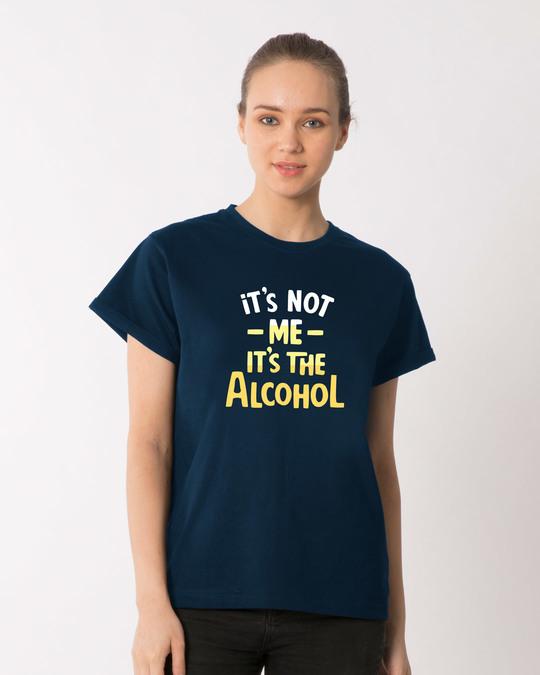 Shop It's The Alcohol Boyfriend T-Shirt-Front