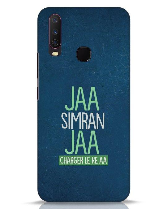 Shop Jaa Simran Jaa Charger Le Ke Aa Vivo Y17 Mobile Cover-Front