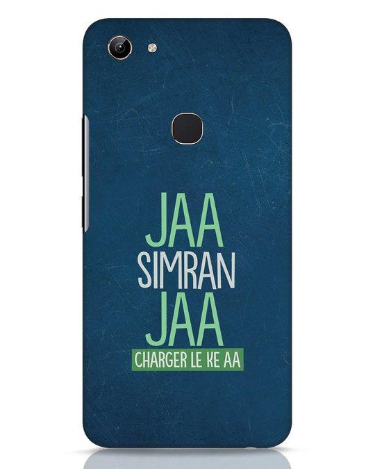 Shop Jaa Simran Jaa Charger Le Ke Aa Vivo Y81 Mobile Cover-Front