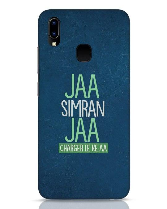 Shop Jaa Simran Jaa Charger Le Ke Aa Vivo Y93 Mobile Cover-Front
