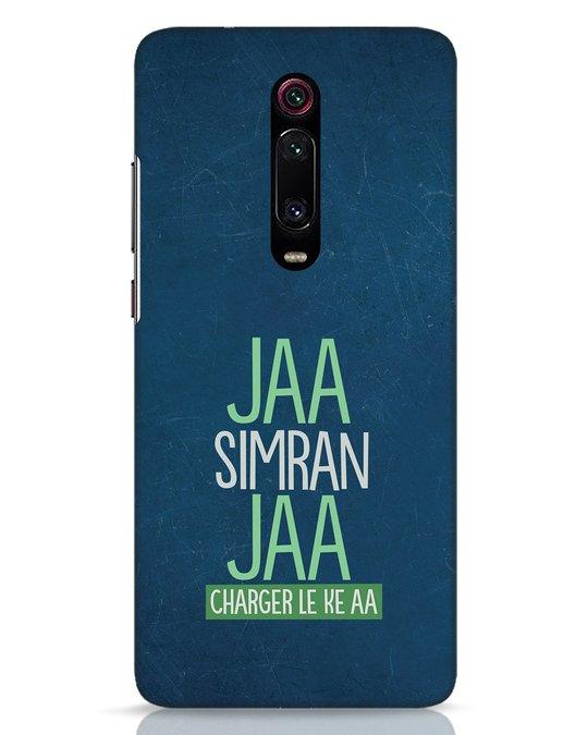 Shop Jaa Simran Jaa Charger Le Ke Aa Xiaomi Redmi K20 Mobile Cover-Front