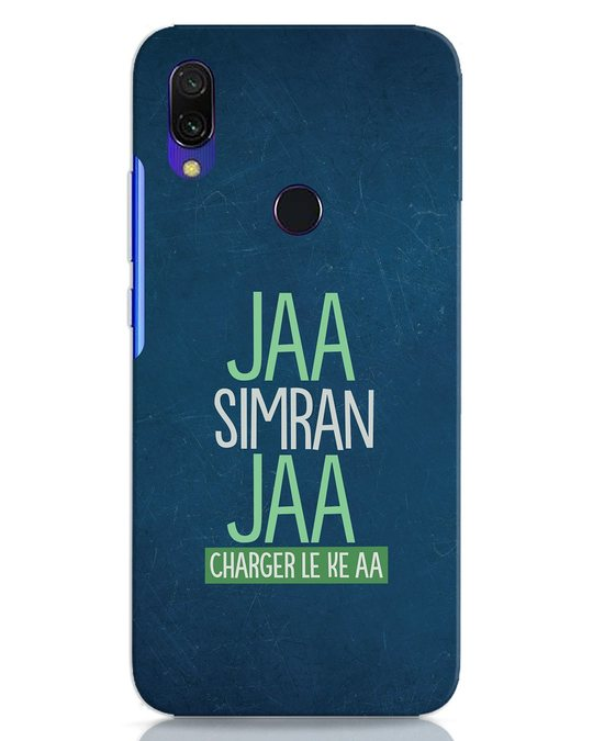 Shop Jaa Simran Jaa Charger Le Ke Aa Xiaomi Redmi Y3 Mobile Cover-Front