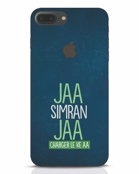 Shop Jaa Slmran Jaa Charger Le Ke Aa iPhone 7 Plus Logo Cut Mobile Cover-Front