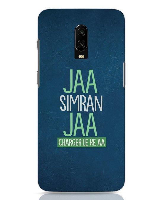 Shop Jaa Slmran Jaa Charger Le Ke Aa OnePlus 6T Mobile Cover-Front